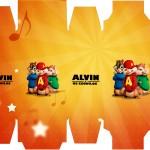 Caixa Sabonete Alvin e os Esquilos
