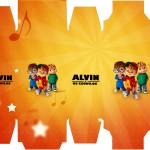 Caixa Sabonete Alvin e os Esquilos Desenho
