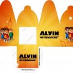 Caixa com Foto Alvin e os Esquilos Desenho