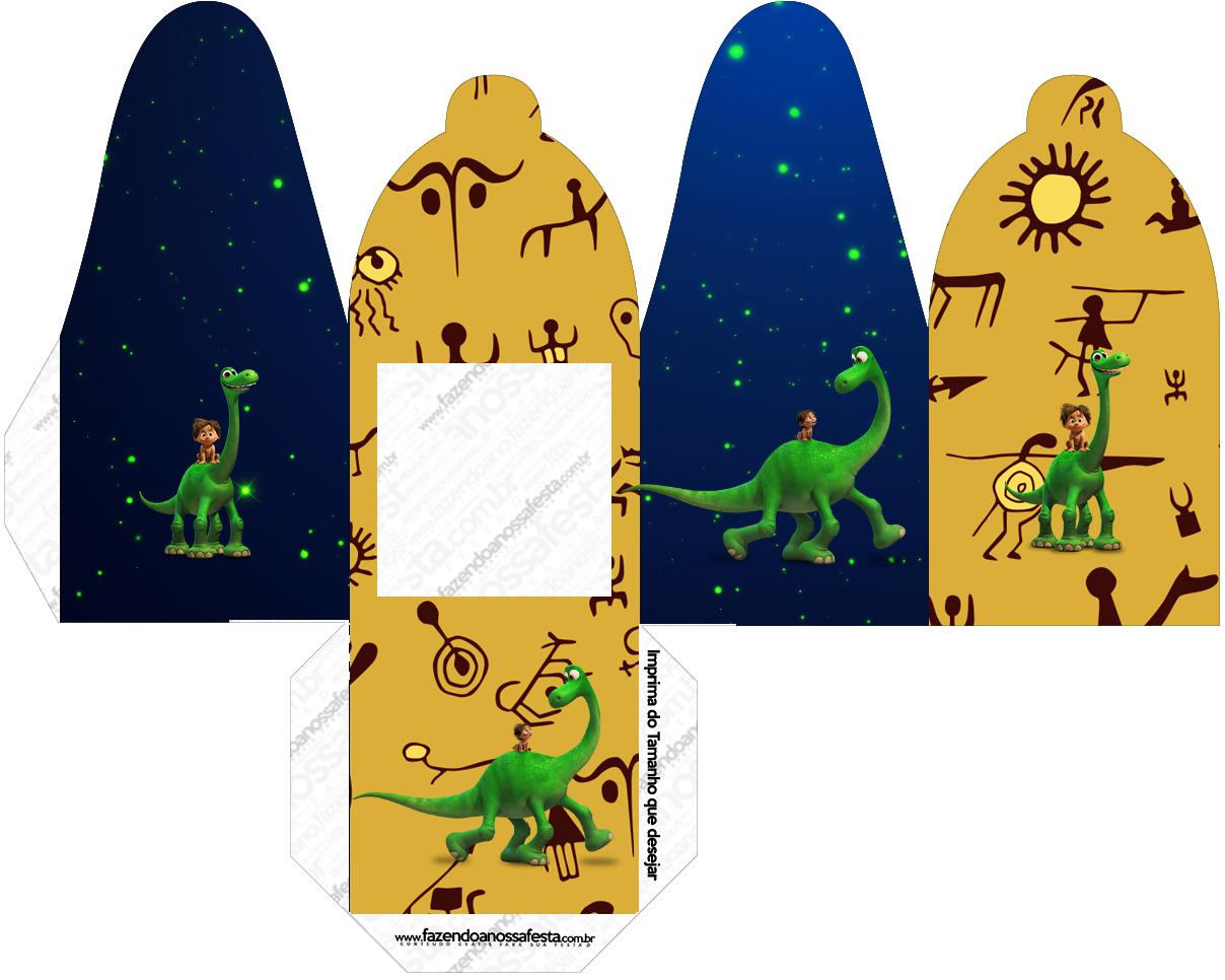 Caixa com Foto O Bom Dinossauro