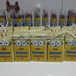 Caixa de leite Festa Minions do Lorenzo