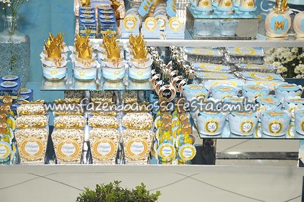 Caixinhas Festa Coroa de Principe do Miguel