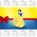 Calendário-2016 Festa Branca de Neve