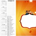 Calendario 2016 Alvin e os Esquilos