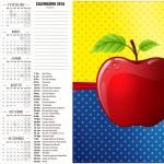Calendario 2016 Festa Branca de Neve