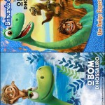 Capa Livrinho para Colorir O Bom Dinossauro