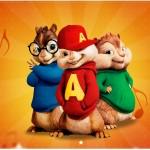 Cartão Alvin e os Esquilos