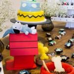 Casinha Festa Snoopy