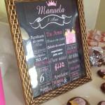 Chalkboard Festa Coroa da Manuela