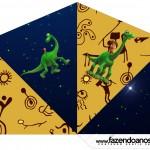 Cone Guloseimas 4 lados O Bom Dinossauro