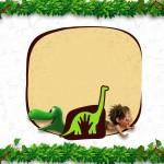 Convite ou Cartão O Bom Dinossauro