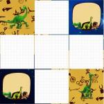 Convite Caixa Fundo O Bom Dinossauro