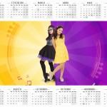 Convite Calendario 2016 Cumplices de um Resgate