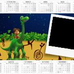 Convite Calendario com Foto Kit Festa O Bom Dinossauro