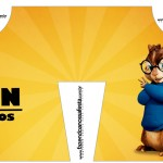 Convite Camisa Alvin e os Esquilos