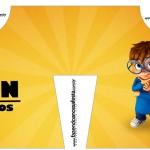 Convite Camisa Alvin e os Esquilos Desenho