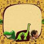 Convite, Cartão ou Moldura O Bom Dinossauro