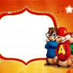 Convite Festa Alvin e os Esquilos