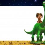 Convite O Bom Dinossauro