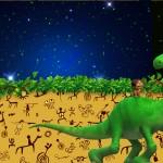 Convite O Bom Dinossauro Disney