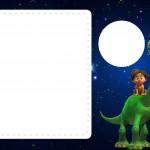 Convite com Foto O Bom Dinossauro Disney
