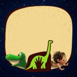 Convite para Festa O Bom Dinossauro