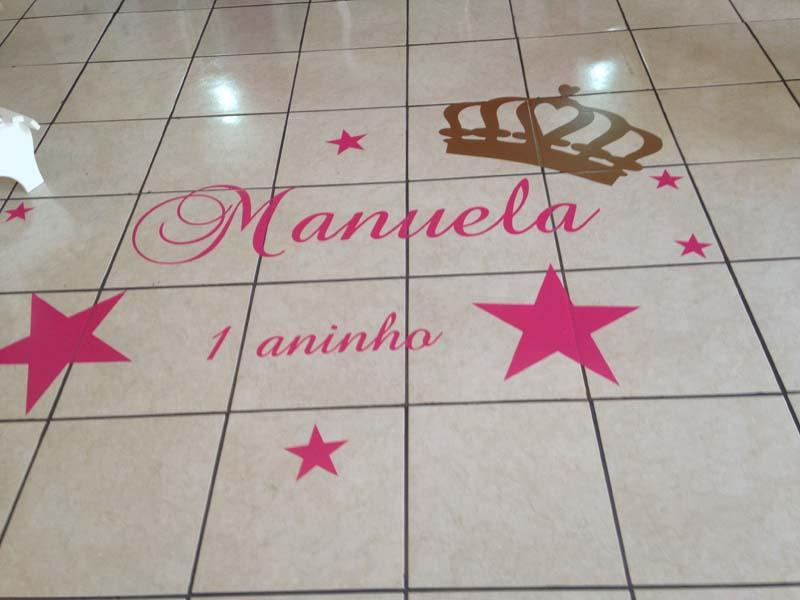 Decoracão Festa Coroa de Princesa da Manuela