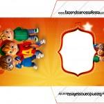 Envelope CD DVD Alvin e os Esquilos Desenho