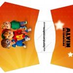 Envelope Fritas Alvin e os Esquilos Desenho