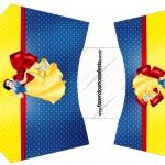 Envelope Fritas Festa Branca de Neve