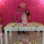 Familia Festa Coroa de Princesa da Manuela