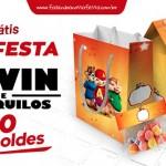 Kit Festa Alvin e os Esquilos Grátis para Imprimir