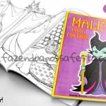 Livrinho para Colorir Malévola Grátis para Imprimir