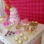 Mesa de Doces festa Festa Coroa da Manuela