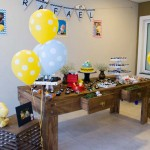 Mesa de doces Festa Snoopy