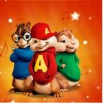 Mini Confeti Alvin e os Esquilos