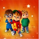 Mini Confeti Kit Festa Alvin e os Esquilos Desenho