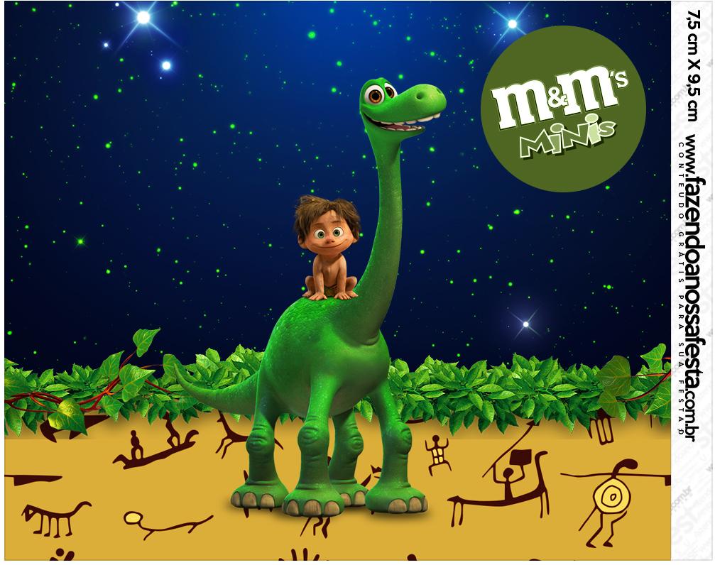 Mini M&M O Bom Dinossauro