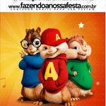 Mini Pastilha Docile Alvin e os Esquilos