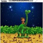 Molde Quadrado Qualquer tamanho O Bom Dinossauro