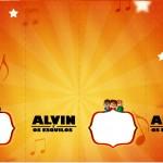 Nescauzinho Alvin e os Esquilos Desenho