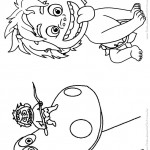 Pagina 1 Livrinho para Colorir O Bom Dinossauro