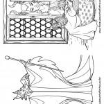 Pagina 3 Livrinho para Colorir Malevola