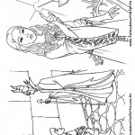 Pagina 4 Livrinho para Colorir Malevola