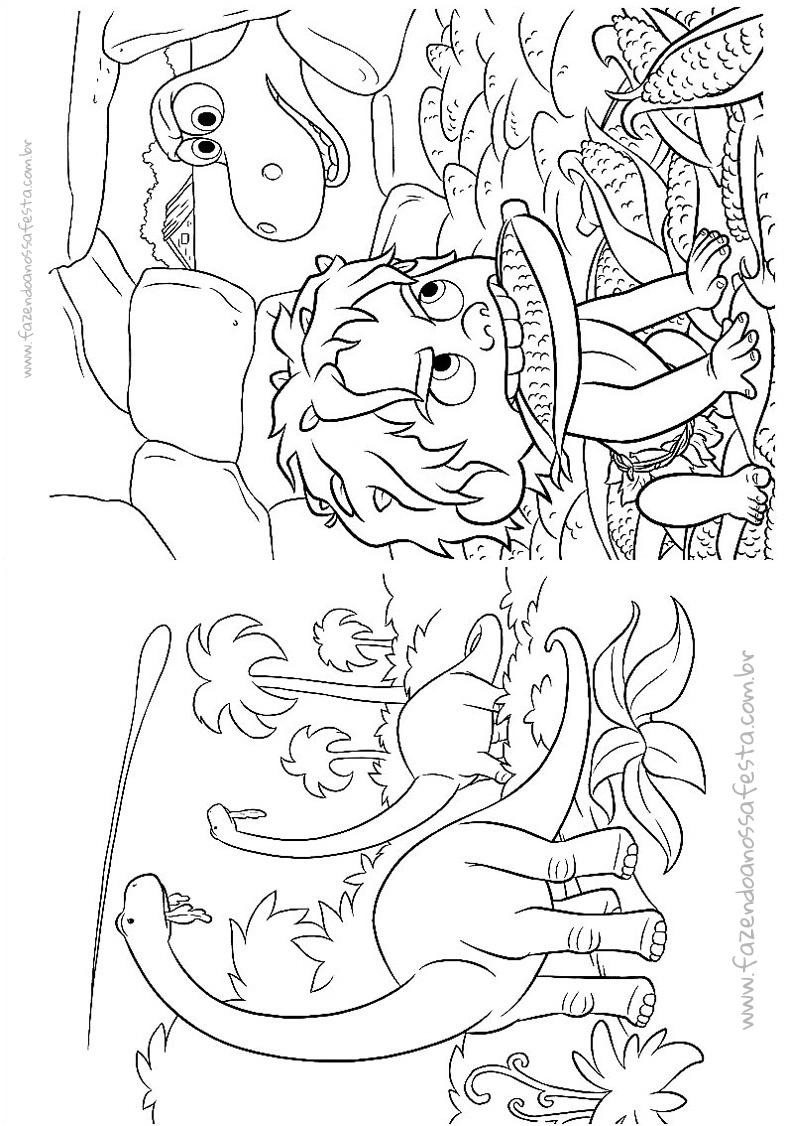 Pagina 6 Livrinho O Bom Dinossauro
