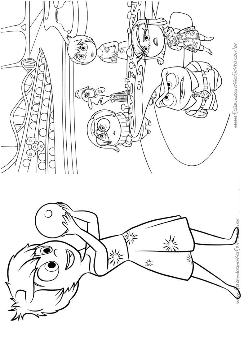 Pagina 8 Livrinho Divertida Mente Disney Fazendo A Nossa Festa