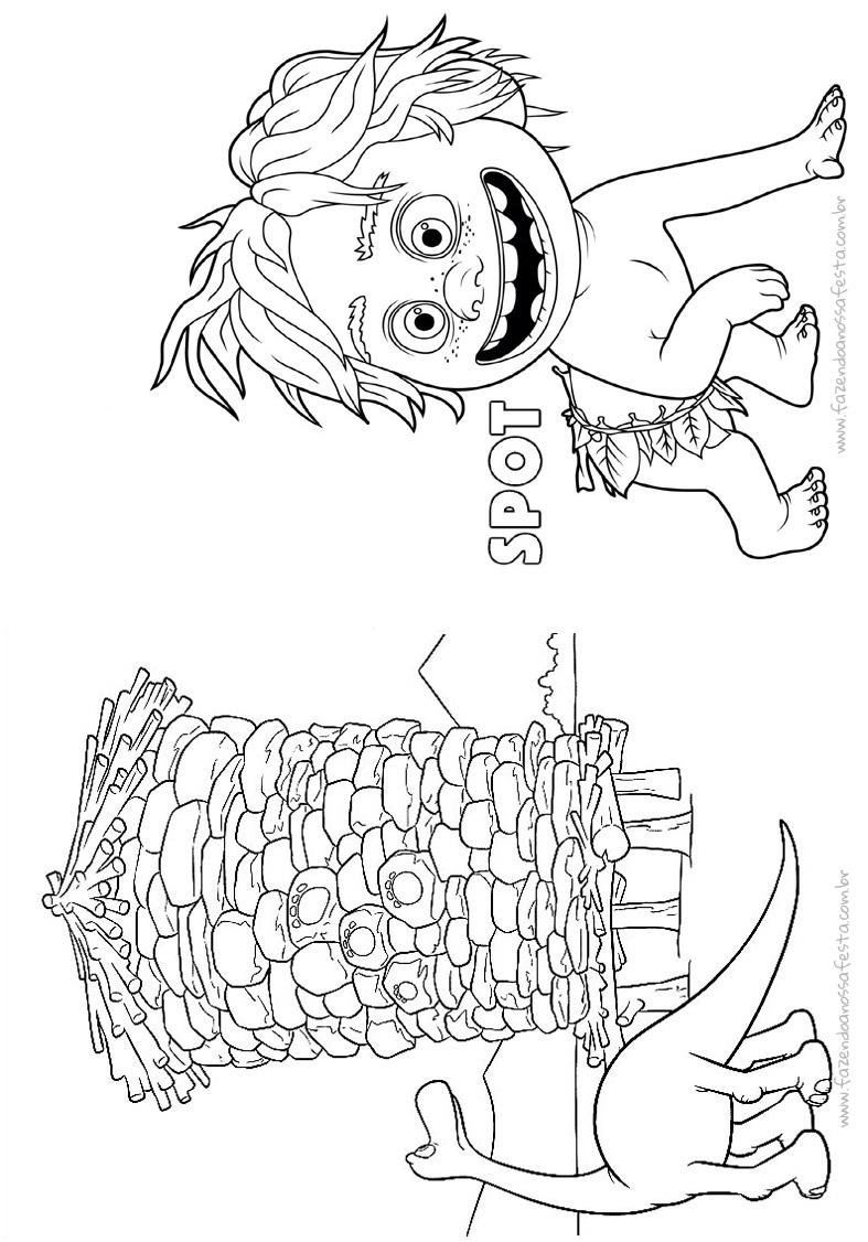 Pagina 9 Livrinho O Bom Dinossauro