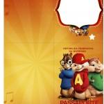 Passaporte Alvin e os Esquilos