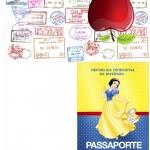 Passaporte Festa Branca de Neve