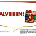 Plaquinhas Alvin e os Esquilos 29